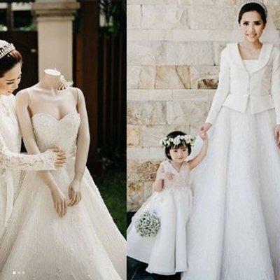 10 Inspirasi Gaun Pernikahan Dengan Blazer Yang Sopan Dan Tertutup Cocok Buatmu Yang Nggak Mau Tampil Buka Bukaan