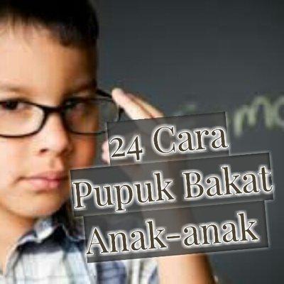 24 Cara Pupuk Bakat Anak Anak