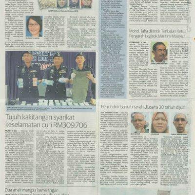 3340 Caj 20 Sen Masuk Kantung Peniaga Utusan Malaysia 12 1 2017