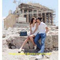 34 Gambar Ragam Ashraf Sinclair Bunga Citra Lestari Di Greece
