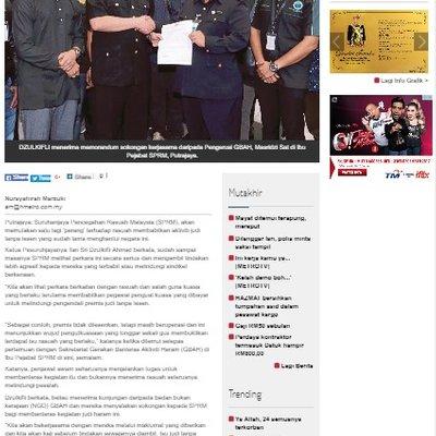 4023 Kilas Pelindung Judi Harian Metro 14 9 2017