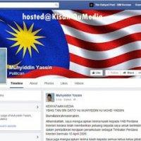 7 45 Malam Muhyiddin Kemas Kini Akaun Facebook