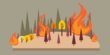 7 Haktare Lahan Di Hutan Bukit Betabuh Terbakar Api Bisa Dipadamkan