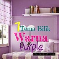 7 Idea Tema Bilik Warna Purple Anak Gadis Mesti Bersorak Riang