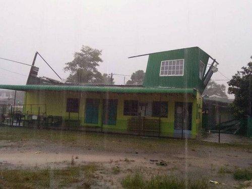 7 Rumah P Pinang Markas Pas Tunggal Rosak Akibat Ribut