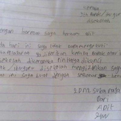 8 Surat Izin Nggak Masuk Sekolah Ini Kelewat Jujur Gurunya Pasti Terbahak Bahak Sih