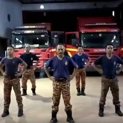 Abang Bomba Jpj Sahut Panama Dance Challenge