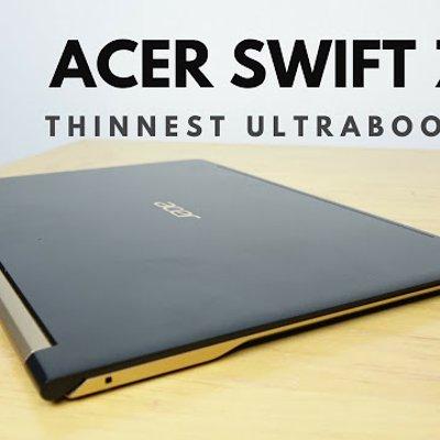 Acer Telah Mengeluarkan Laptop Ternipis Di Dunia