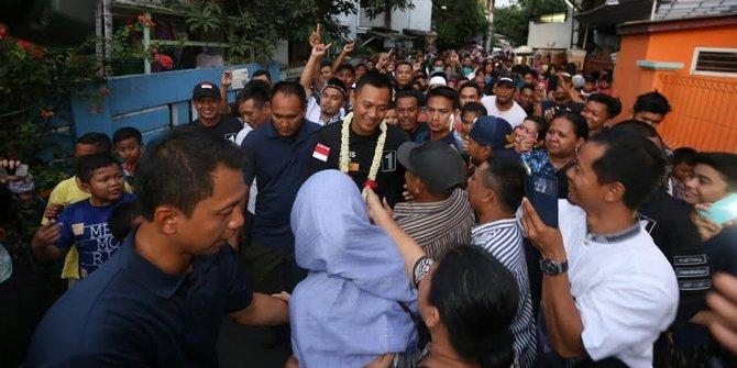Agus Yudhoyono Kita Ingin Bangun Dki Tanpa Menggusur Sakiti Warga