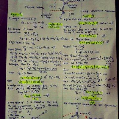 Ahli Matematik Dan Fizik Dari Ukm Ini Buat Kiraan Matematik Bagaimana Sepakkan Bola Lencong Faiz Subri Terhasil