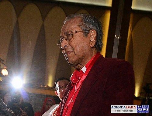 Ahli Pkr Terkilan Mahathir Dicalon