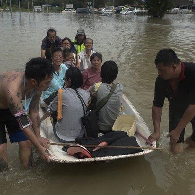 Air Makin Naik 6 200 Mangsa Banjir Pulau Pinang Terjejas
