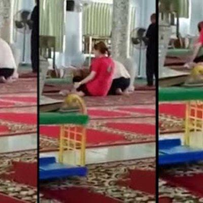 Ajk Masjid Yang Berhemah Tegur Dua Wanita Bukan Islam Sembahyang Cara Buddha Dalam Masjid