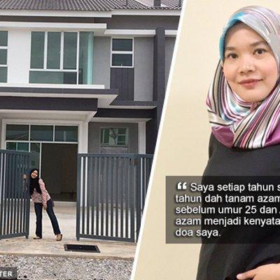 Alhamdulillah Azam 2017 Saya Dah Tercapai Untuk Beli Rumah Di Usia 24 Tahun