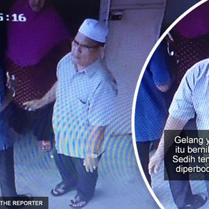 Aliff Syukri Dedah Wajah Pencuri Yang Larikan Wang Sejumlah Rm100 Ribu Kini Diburu