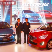 All New 2013 Mitsubishi Attrage Launched In Malaysia At Rm59k