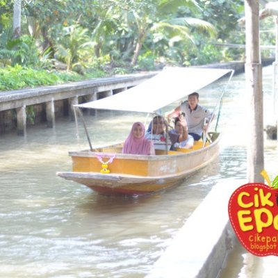 Amphawa Dan Damnoen Saduak Floating Market Popular Dekat Bangkok Thailand