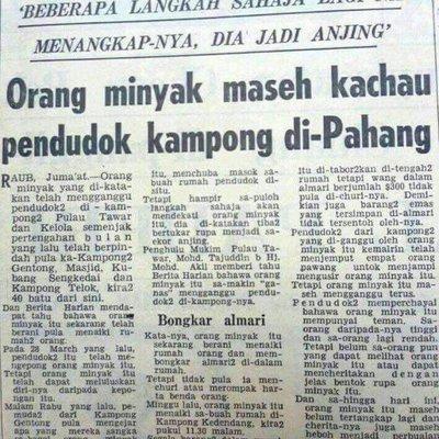 Amukan Orang Minyak Di Pahang