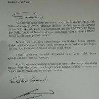 Anina Dapat Warkah Istimewa Daripada Tun Mahathir