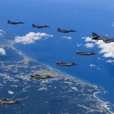 As Hantar Dua Pesawat Pengebom Ke Semenanjung Korea