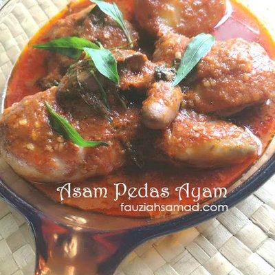 Asam Pedas Ayam Johor