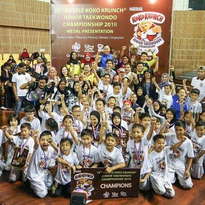 Aspiring Taekwondo Stars Battle For Gold Glory At 13th Nestl Koko Krunch Junior Taekwondo Championship
