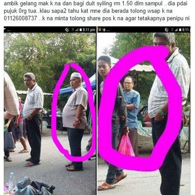 Awas Orang Taiping Hati Hati Dengan Lelaki Berpakaian Ala Ustaz Ini Gelang Emas Bernilai Rm13k Lesap Lepas Kena Pukau