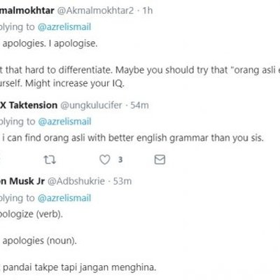 Azrel Ismail Hina Orang Asli Selepas Berang Lakonannya Dikritik Netizen