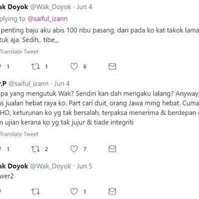 Baju Raya Ikon Fesyen Malaysia Wak Doyok Sudah Terjual 100 000 Pasang