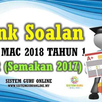 Bank Soalan Ujian Mac 2018 Tahun 1 Kssr