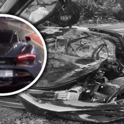 Baru Beli Semalam Hari Ini Dah Hancur Remuk Kereta Sport Mclaren Rm1 2juta Hancur Terlanggar Pokok