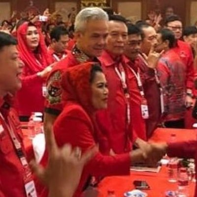 Basarah Jokowi Capres Satu Paket Dengan Gus Ipul Puti Guntur