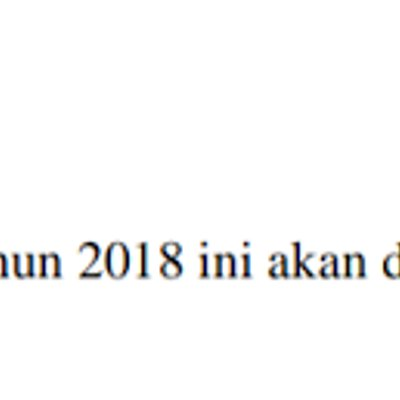 Bayaran Khas Aidilfitri Tahun 2018 Dibayar Pada 07 Jun 2018