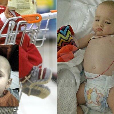 Bayi 10 Bulan Demam Teruk Dijangkiti 4 Penyakit Berbahaya Selepas Diletak Dalam Troli Pasar Raya