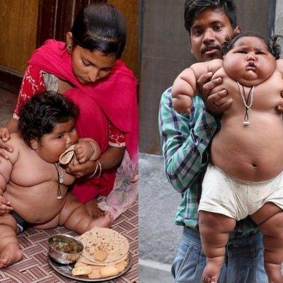 Bayi 8 Bulan Miliki Berat 17 Kg Selepas Tiba Tiba Berselera Makan Seperti Budak Berumur 10 Tahun