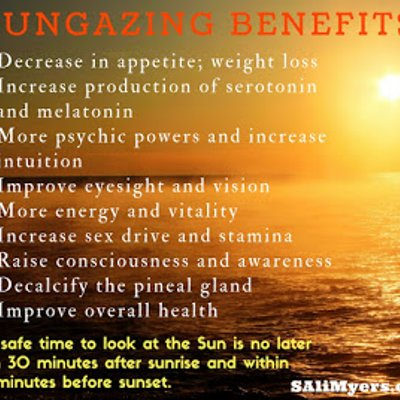 Benefit Of Sun Gazing