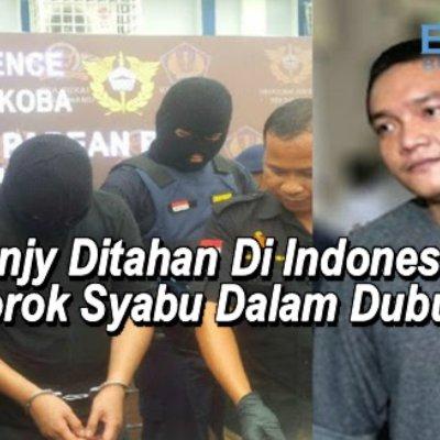 Benjy Ditahan Di Indonesia Sorok Syabu Dalam Dubur