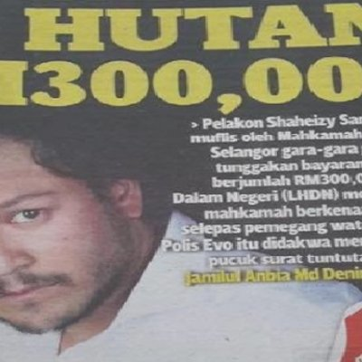 Berapa Income Shaheizy Sam Ni Hah