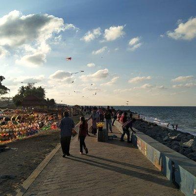 Bercuti Ke Kota Bharu Bersantai Petang Di Pantai Cahaya Bulan