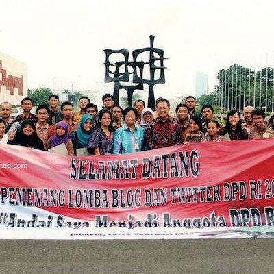 Bermodalkan Blog Blogger Pontianak Ini Melenggang Menuju Senayan