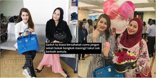 Betul Ke Netizen Anggap Rebecca Gaduh Dengan Eina Azman