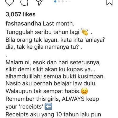 Betul Ker Nie Fasha Sandha Mahu Dedah Kisah Sebenar Diganggu Beribu Missed Calls