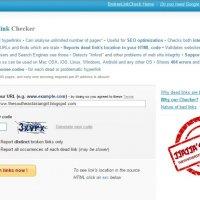 Blogger Talk Broken Link Checker
