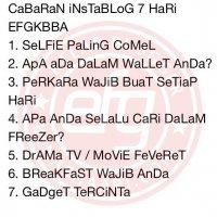 Cabaran Instablog 7 Hari Movie Feveret