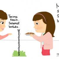 Cabaran20hari Amalan Berbalas Juadah Di Bulan Ramadhan