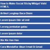 Cara Buat Popular Post Sempoi