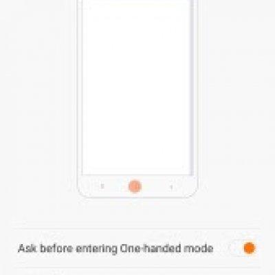 Cara Cepat Aktifkan Mode Satu Tangan Smartphone Xiaomi