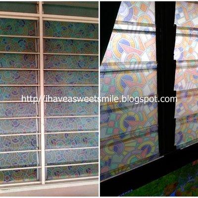 Cara pasang glass wallpaper untuk tingkap rumah - Cara pasang wallpaper ...