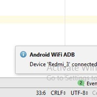 Cara Running Aplikasi Android Studio Lewat Wifi Dengan Plugin Android Wifi Adb