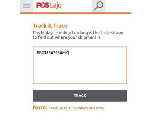 Cara Semak Pos Laju Tracking Secara Online Dan Sms